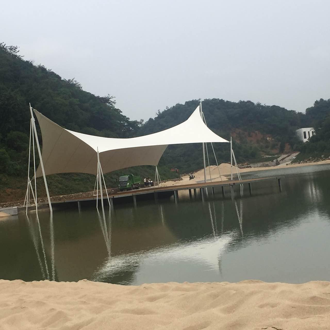 杭州市沙滩景观棚