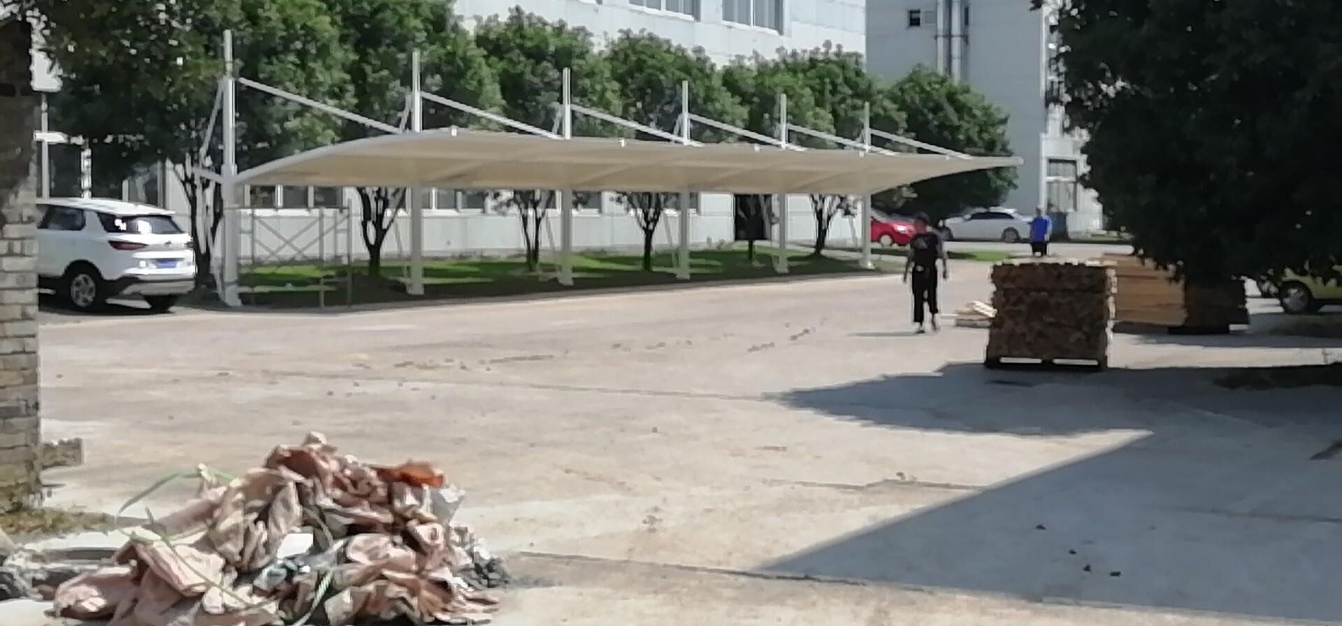 龙8娱乐官方网站停车棚